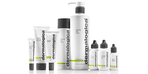 A line of Dermalogica products